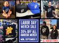 Labor Day Amoeba Merch Sale at Our Stores Monday, September 2