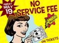 No Service Fee on Tickets at Amoeba Hollywood Friday, May 19th