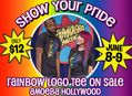 Rainbow Logo T-Shirt Sale at Amoeba Hollywood June 8-9