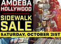 Sidewalk Sale at Amoeba Hollywood on October 21st