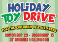 Holiday Toy Drive at Amoeba Hollywood Nov 29 - Dec 15