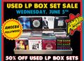50% Off Used LP Box Sets at Amoeba Hollywood June 5
