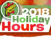 2018 Holiday Store Hours