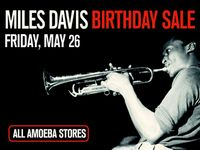 20% Off Miles Davis Music & Merch at Our Stores May 26