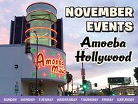 November 2019 Events at Amoeba Hollywood