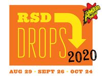 RSD Drops 2020 on August 29th, September 26th, October 24th