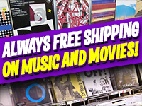 Always Free Shipping On Music and Movies Online at Amoeba.com