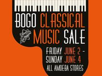 BOGO Classical Red Tag CD & Vinyl Sale at Our Stores June 2-4