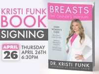 Dr. Kristi Funk Book Party w/ Cindy Alexander at Amoeba Hollywood April 26th