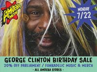 20% Off All Parliament & Funkadelic Items at Our Stores on July 22