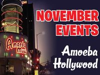 November Events at Amoeba Hollywood