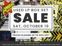Used Vinyl Box Set Sale at Our Stores Saturday, October 19