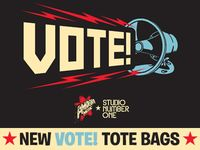 New VOTE! Tote Bag Collaboration with Studio Number One Available at Our Stores Starting April 21