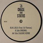 Chase & Status, Ed Thomas - Blk & Blu Feat  Ed Thomas (Vinyl