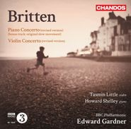 Benjamin Britten, Britten: Piano Concerto / Violin Concerto (CD)