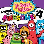 Yo Gabba Gabba!, Music Is Awesome! Vol. 4 (CD)