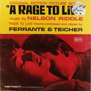 Nelson Riddle, A Rage To Live [Score] (LP)