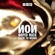NON, Back To Mono (CD)