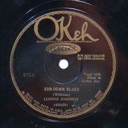 Lonnie Johnson, Baby Please Don't Leave Home No More / Sun-Down Blues