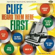 Various Artists, Cliff Heard Them Here First (CD)
