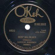 Lonnie Johnson, Deep Sea Blues / Long Black Train