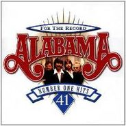 Alabama, For the Record: 41 Number One Hits (CD)