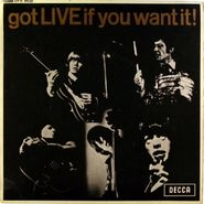 "The Rolling Stones, Got Live If You Want It! EP [UK Mono] (7"")"