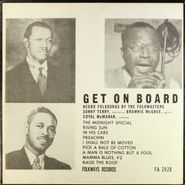 "Sonny Terry & Brownie McGhee, Get On Board: Negro Folksongs by the Folkmasters (10"")"