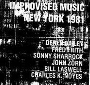 Derek Bailey, Improvised Music New York 1981 (CD)