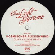 DJ Kaos, Kosmischer Ruckenwind (12') [Quiet Village & Elitechnique Remixes]