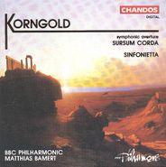 Erich Wolfgang Korngold, Korngold: Sursum Corda / Sinfonietta [Import] (CD)