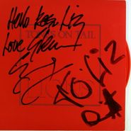 """Tones On Tail, Lions / Go [Signed, Clear Red  Vinyl] (7"""")"""