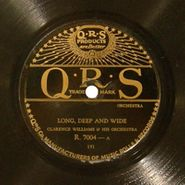Clarence Williams & His Orchestra, Long, Deep And Wide / Speakeasy