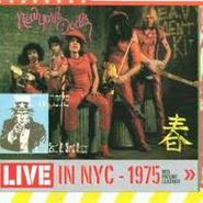 New York Dolls, Live In NYC - 1975 Red Patent Leather (CD)