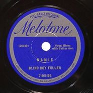 Blind Boy Fuller, Mamie / New Oh Red!