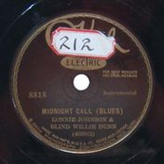 Lonnie Johnson, Midnight Call / Blue Room