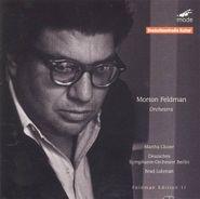Morton Feldman, Feldman: Orchestra (CD)
