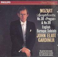 """Wolfgang Amadeus Mozart, Mozart: Symphonies 38 """"Prague"""" & 39 (CD)"""