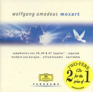 Berlin Philharmonic Orchestra, Panorama: Wolfgang Amadeus Mozart, Vol. 1 (CD)