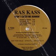 "Ras Kass, Remain Anonymous / Won't Catch Me Runnin' [Promo] (12"")"