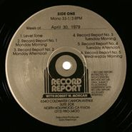 NOVELTY, Record Report With Robert W. Morgan (Week Of April 30, 1979)