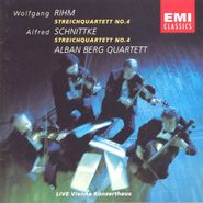 Wolfgang Rihm, Rihm: String Quartet No. 4 / Schnittke: String Quartet No. 4 (CD)