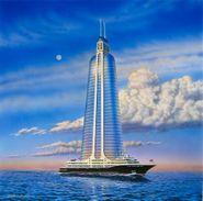 """Terminal 11, Skyscraper On A Megayacht EP (12"""")"""