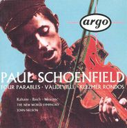 Paul Schoenfield, Schoenfield: 4 Parables / Vaudeville / Klezmer Rondos [Import] (CD)