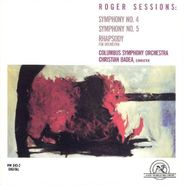 Roger Sessions, Sessions: Symphony No. 4 / Symphony No. 5 / Rhapsody (CD)