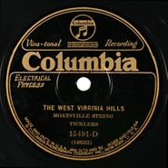 Moatsville String Ticklers, The West Virginia Hills / Moatsville Blues
