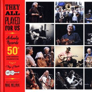 Various Artists, They All Played For Us: Arhoolie Records 50th Anniversary Celebration (CD)