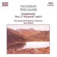 "Ralph Vaughan Williams, Vaughan Williams: Symphonies Nos. 3 ""Pastoral"" & No. 6 [Import] (CD)"