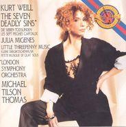 Kurt Weill, Weill: The Seven Deadly Sins (CD)