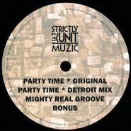 "CVO, Party Time / Mighty Real Groove (12"")"